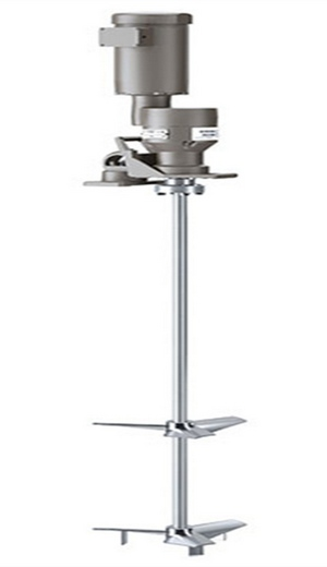 Brawn High Torque, Gear Driven Mixer with Electric Motor - For use with 500 gallonvertical storage tanks and can be mounted on a mixer stand Part #BRAWN-SFNN-C90-1
