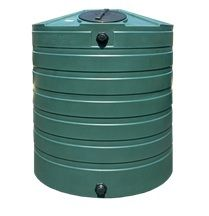 865 Gallon Bushman Plastic Water Storage Tank
