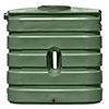 130 Gallon Slimline Rainwater Harvesting Tank (4 Colors)