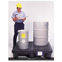 4 Drum Ultra-Spill Pallet P4-3000 - No Drain