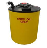 150 Gallon Double Wall Waste Oil Tank w/ Oil Level Gauge