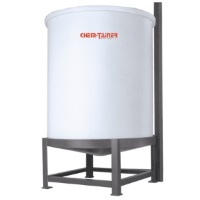 Polypropylene Cone Bottom Tanks