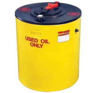 100 Gallon Double Wall Waste Oil Tank w/ Oil Level Gauge