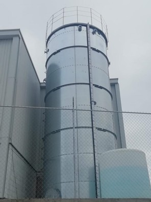 99,985 Gallon Climate Tank Galvanized with Liner