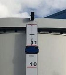 Climate LLC 334.8in. SeeLevel Blue™ Tank Level Gauge