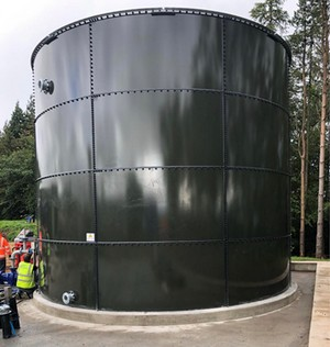 103,247 Gallon Climate Tank Glass Fused to Steel - Fire Tank