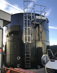 52,080 Gallon Climate Tank Glass Fused to Steel - Fire Tank