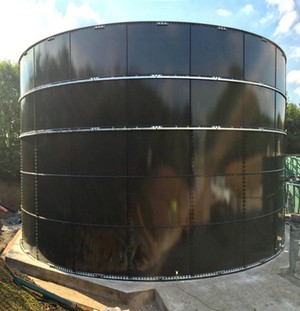 249,831 Gallon Climate Tank Glass Fused to Steel - Fire Tank