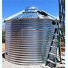 6139 Gallon 30 Deg Roof Steel Rainwater Tank