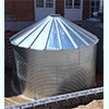 9592 Gallon 30 Deg Roof Steel Rainwater Tank