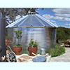 780 Gallon 30 Deg Roof Steel Rainwater Tank
