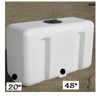 100 Gallon Portable Utility Tanks