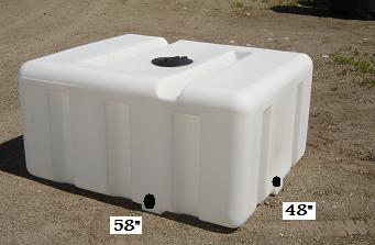300 Gallon Portable Utility Tanks