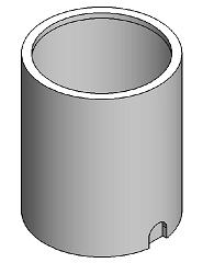 50 Gallon PE Open Top Cylindrical Tank