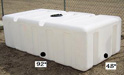 500 Gallon Portable Utility Tanks