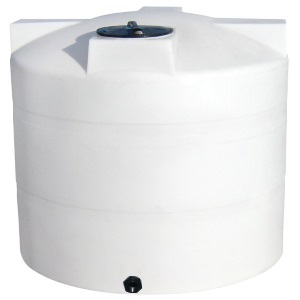 1000 Gallon Vertical Plastic Storage Tank