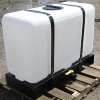 100 Gallon Rectangular Flat Bottom Tank w/ Skid