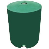 50 Gallon Plastic Water Storage Tank