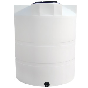 825 Gallon Vertical Plastic Storage Tank