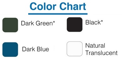 custom roto color chart
