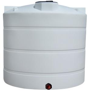 2500 Gallon Vertical Plastic Storage Tank