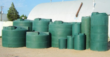 2400 Gallon Vertical Water Storage Tank