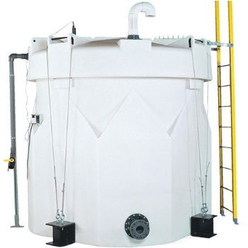 8700 Gallon 1.5 Specific Gravity Double Wall Tank