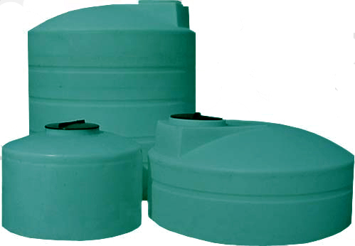 2500 Gallon Plastic Water Storage Tank