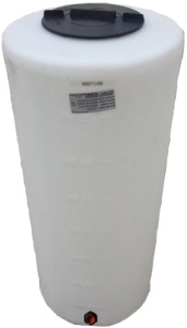 40 Gallon Vertical Plastic Storage Tank