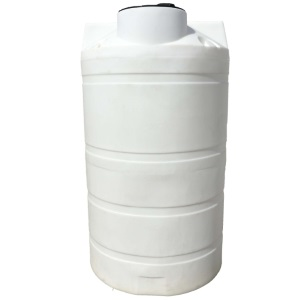 525 Gallon Vertical Plastic Storage Tank