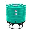 550 Gallon Cone Bottom Liquid Storage Tank (Without Stand)