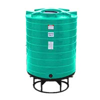 870 Gallon Cone Bottom Liquid Storage Tank (Without Stand)
