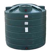 2600 Gallon Vertical Water Storage Tank