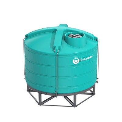 2520 Gallon 15 Deg Cone Bottom Tank (Includes Stand)