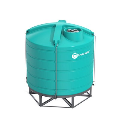 3200 Gallon 15 Deg Cone Bottom Tank (Includes Stand)
