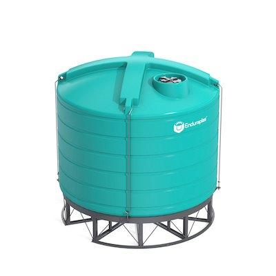 7000 Gallon 15 Deg Cone Bottom Tank (Includes Stand)