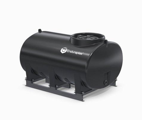 500 Gallon Enduraplas Sump Bottom Transport Tank With Frame