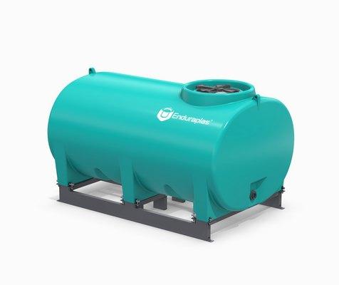 800 Gallon Enduraplas Sump Bottom Transport Tank With Frame