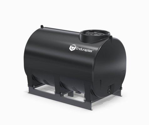 1000 Gallon Enduraplas Sump Bottom Transport Tank With Frame