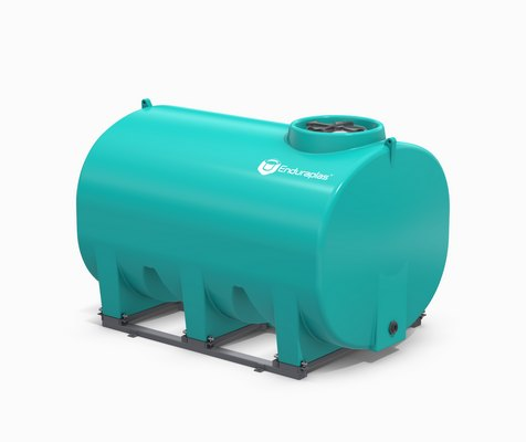 1400 Gallon Enduraplas Sump Bottom Transport Tank With Frame