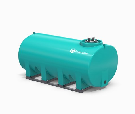 1600 Gallon Enduraplas Sump Bottom Transport Tank With Frame