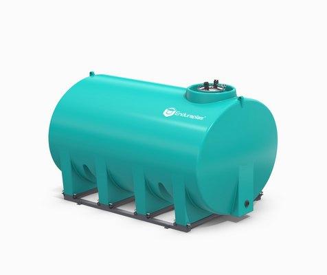 2500 Gallon Enduraplas Sump Bottom Transport Tank With Frame