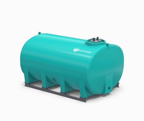 3200 Gallon Enduraplas Sump Bottom Transport Tank With Frame