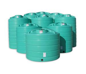 5000 Gallon Vertical Water Tank