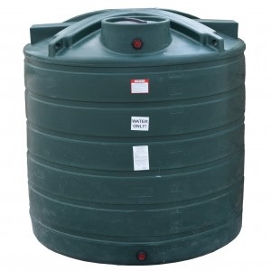 1750 Gallon Plastic Water Storage Tank