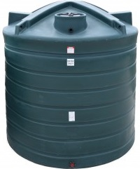 2710 Gallon Plastic Water Storage Tank