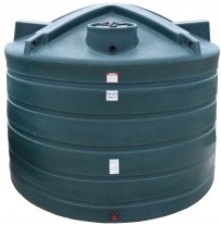6000 Gallon Plastic Water Storage Tank