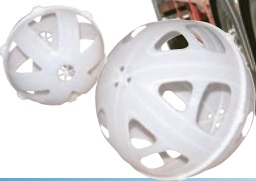 """Small Baffle Ball for Tanks with 8"""" Lid"""