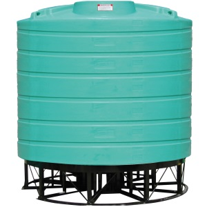 4000 Gallon 15 Deg Cone Bottom Tank (Includes Stand)