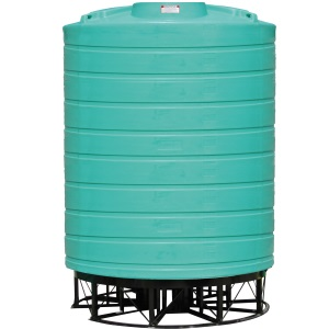 6000 Gallon 15 Deg Cone Bottom Tank (Includes Stand)